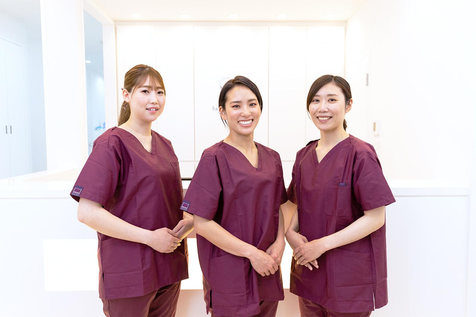 歯科衛生士は担当制